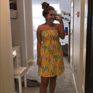 Lilly Pulitzer vintage flower dress